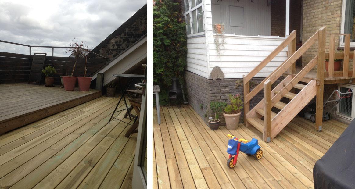 Terrasse   tømrer bo johansen
